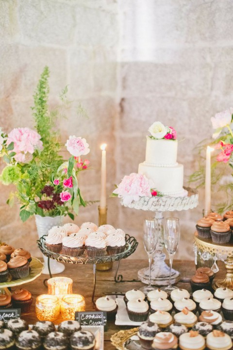 Wedding Cake Table.92 Beautiful Wedding Dessert Table Ideas Happywedd Com