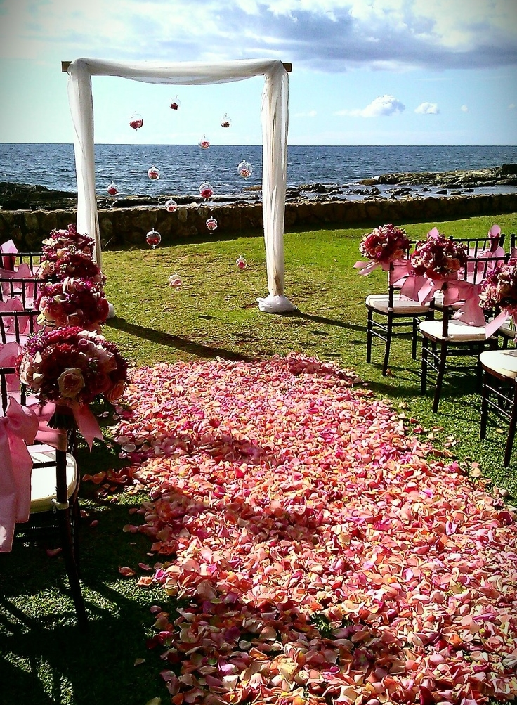 Outdoor Wedding Ideas.69 Outdoor Wedding Aisle Decor Ideas Happywedd Com