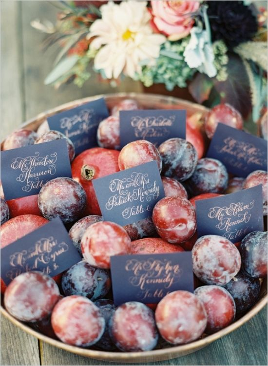 44 Summer Wedding Escort Cards Ideas