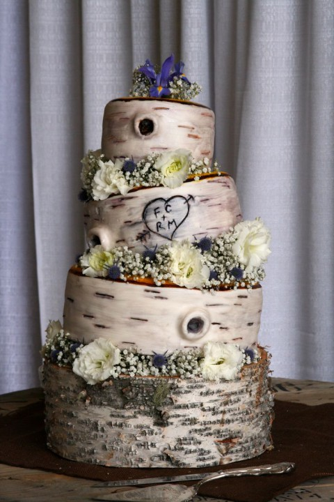 birch tree wedding cake ideas 41 woodland wedding cakes happywedd 11768