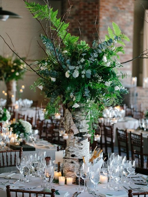 nature wedding decorations 58 inspiring and woodland wedding centerpieces 6098