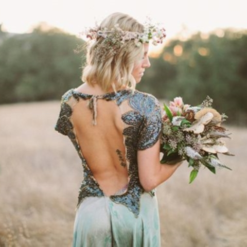37 Woodland Wedding Dresses To Look Like A Forest Nymph