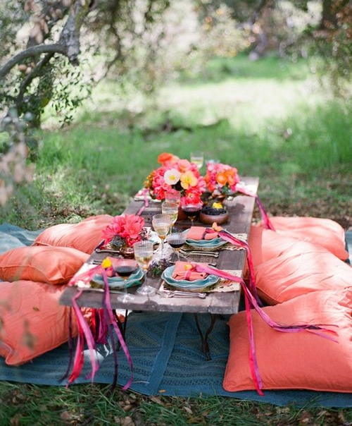 36 Awesome Outdoor Bridal Shower Ideas