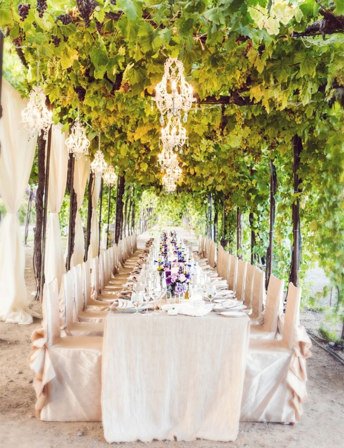 vineyard wedding decoration ideas 46 vineyard wedding reception decor ideas happywedd 8271
