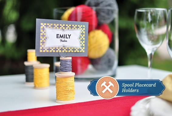 17 DIY Wedding Place Cards And Place Card Holders