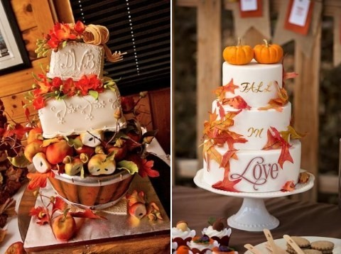 Fall Wedding Cakes.59 Delicious Fall Wedding Cakes Happywedd Com