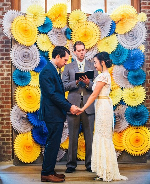 50 Awesome Indoor Wedding Ceremony Backdrops