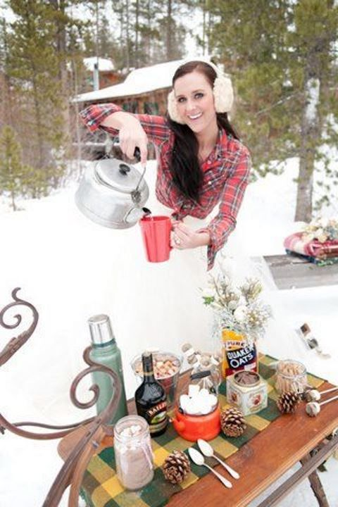 52 Awesome Winter Campfire Wedding Ideas