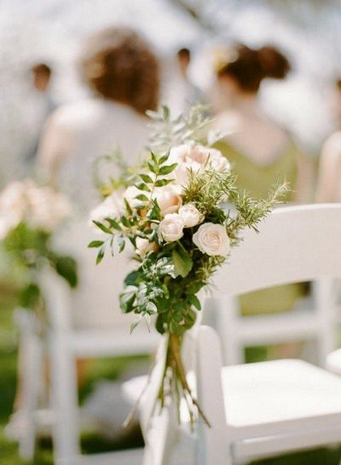 40 Stunning Spring Wedding Aisle Decor Ideas Happywedd Com