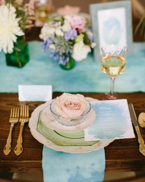 60 Subtle Watercolor Wedding Ideas