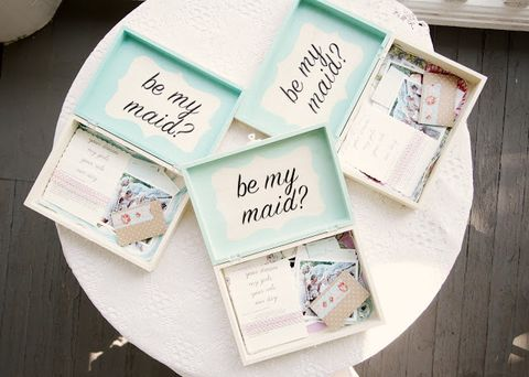 15 DIY 'Will You Be My Bridesmaid' Ideas