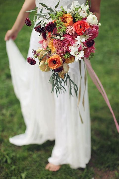 bohemian wedding flowers 55 relaxed yet breathtaking boho chic wedding bouquets 2002