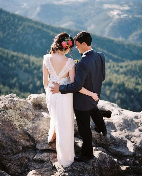 67 Adventurous Mountain Wedding Ideas