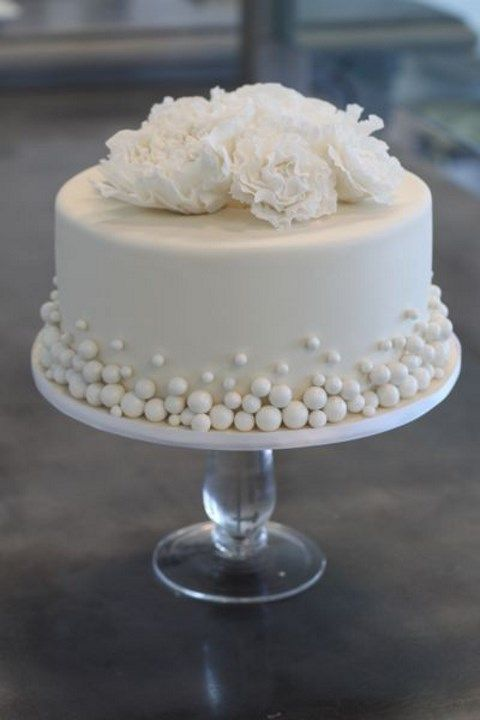 tiny food wedding cake 45 delicious one tier wedding cakes to get inspired 21016