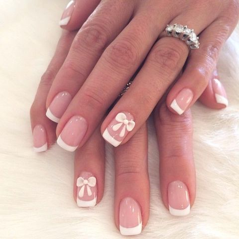 50 French Nails Ideas For Every Bride