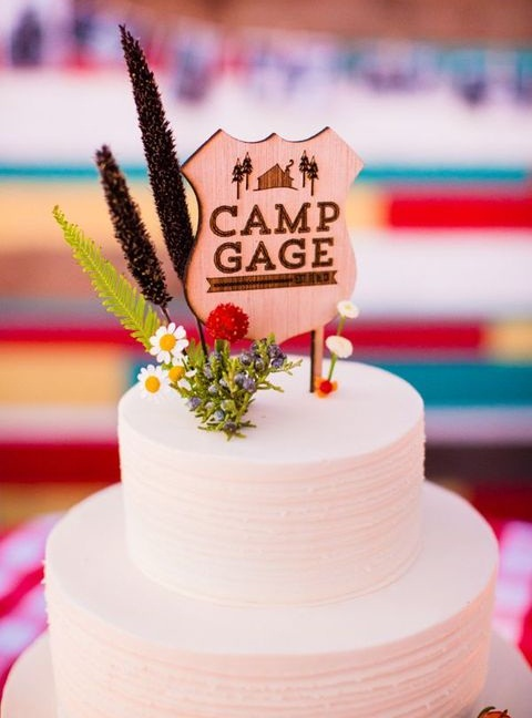 68 Cool Summer Camp Wedding Ideas