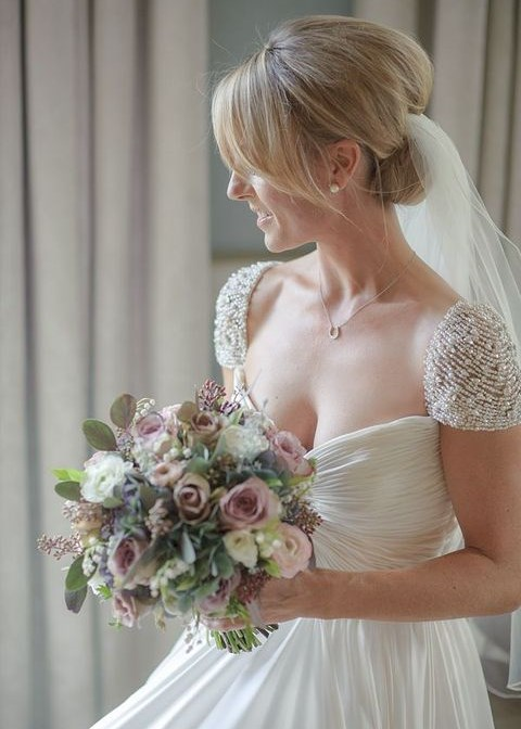 51 Beautiful Cap Sleeve Wedding Gowns