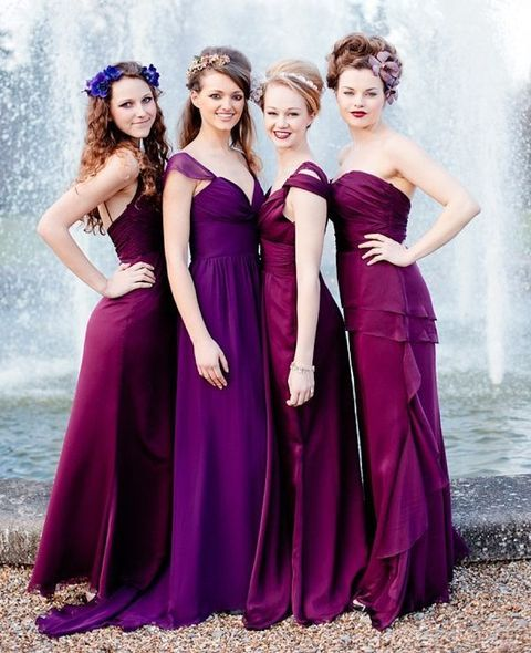 53 Awesome Jewel-Toned Bridesmaids' Dresses