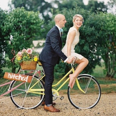 70 Awesome Ways To Incorporate Bikes Into Your Wedding