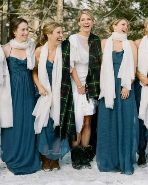 30 Ways To Rock A Scarf On Your Big Day