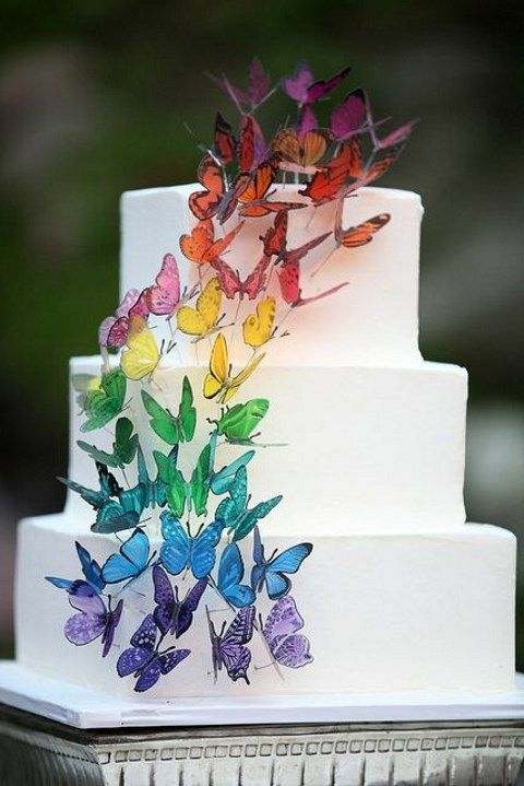 66 Wonderful Butterfly Wedding Ideas To Try