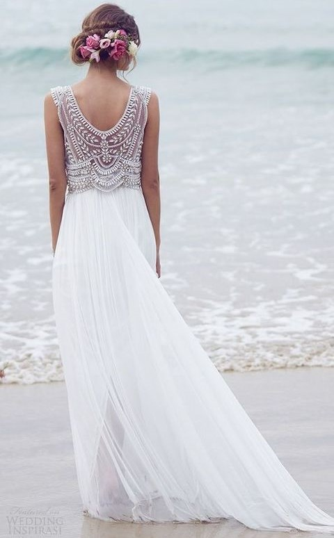 60 And Airy Flowy Wedding Dresses