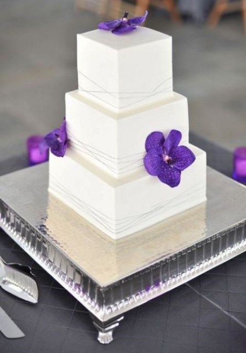 square wedding cake pics 53 square wedding cakes that wow happywedd 20393