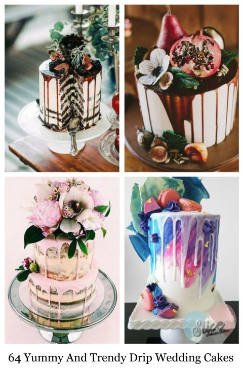 trendy wedding cakes 64 and trendy drip wedding cakes happywedd 21269