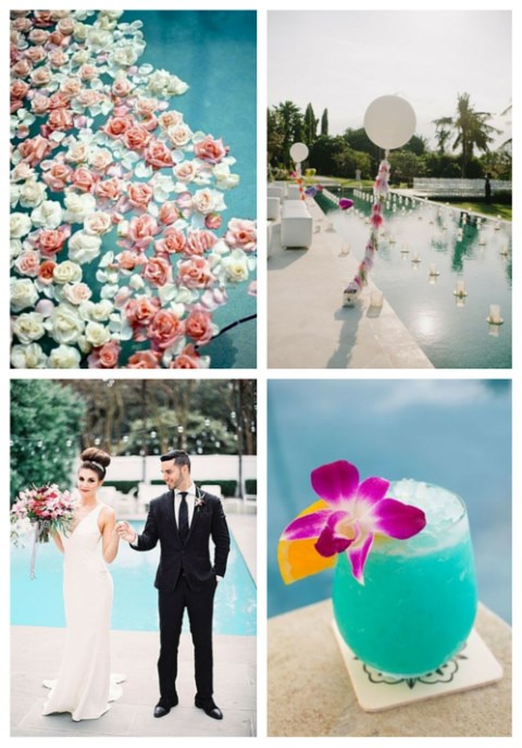 33 Cool Poolside Wedding Ideas