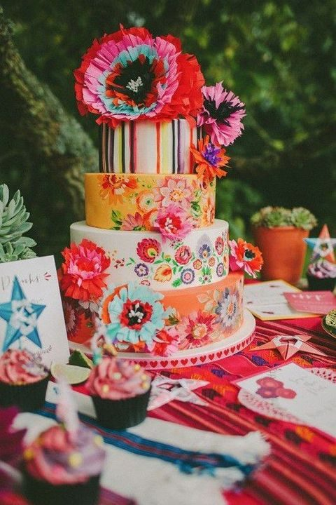 best ever mexican wedding cakes 80 mexican destination wedding ideas happywedd 11308
