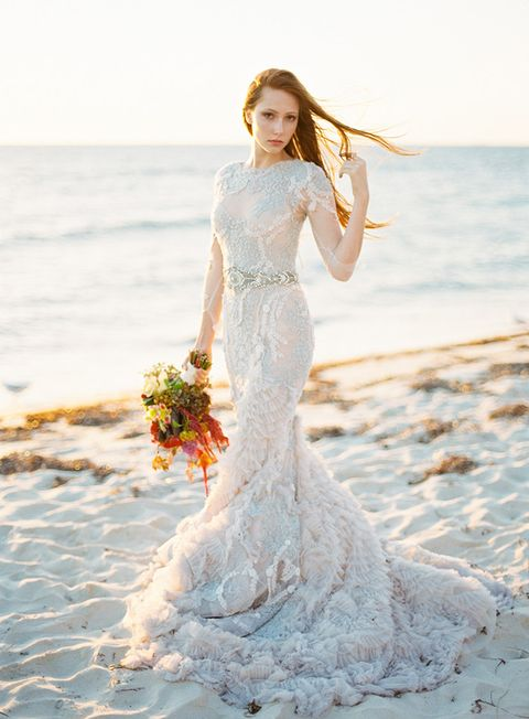 45 Winter Coastal And Beach Wedding Ideas