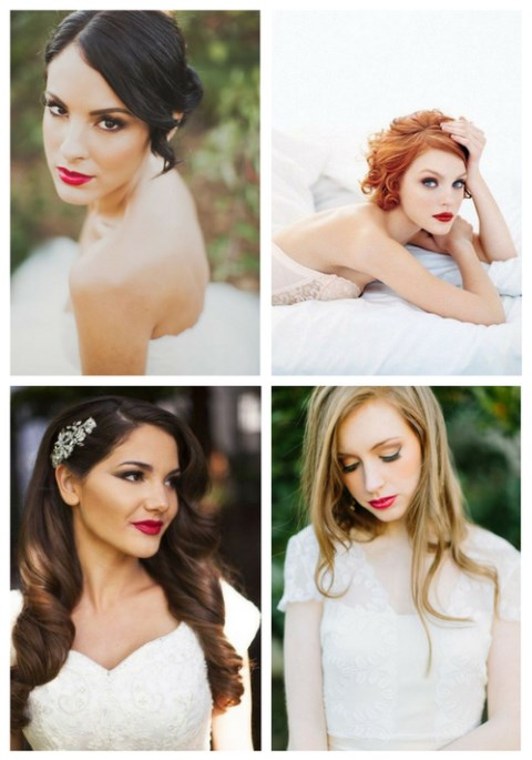 25 Wedding Makeup Ideas With A Bold Lip