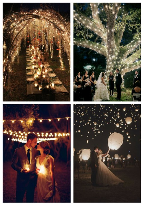 22 Night Wedding Ideas That Strike