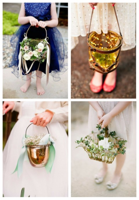 27 Cutest Flower Girl Baskets And Their Alternatives