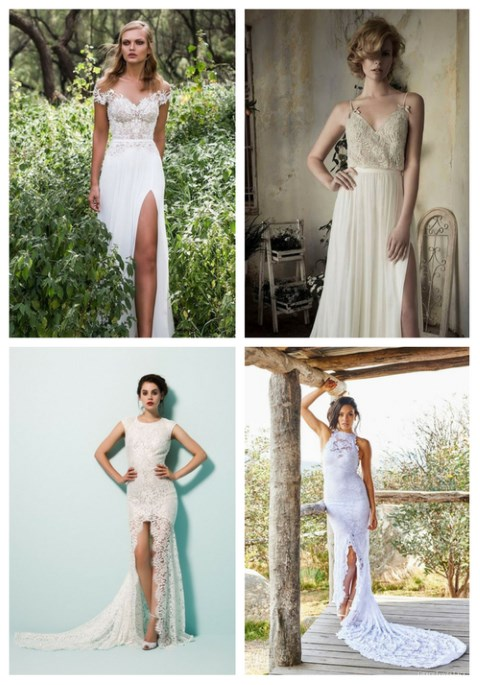 26 Sexy Wedding Dresses With A Slit