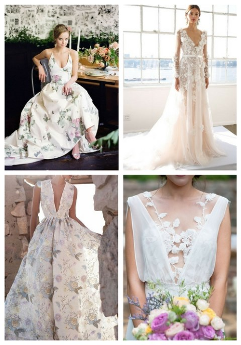 26 Gorgeous Floral Wedding Dresses That Inspire