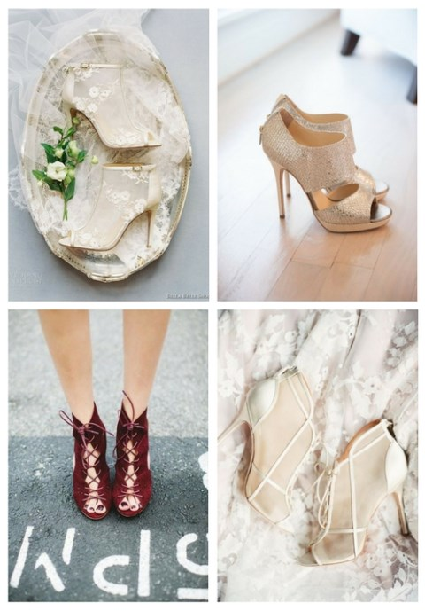 25 Trendy Wedding Booties Ideas