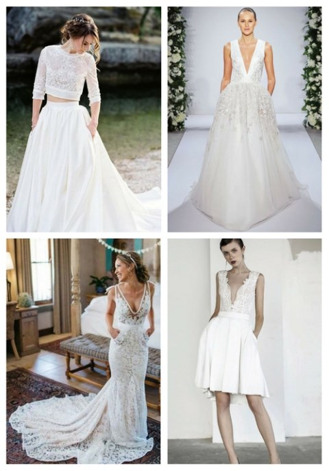 44 Gorgeous Wedding Dresses With Pockets