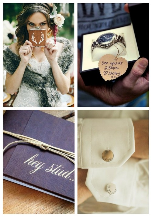 7 Amazing Gifts to Surprise Your Man With On Your Wedding Day