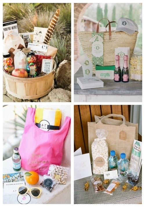 32 Awesome Wedding Welcome Bags Ideas