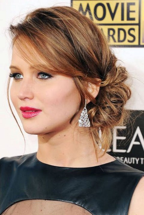 How to do a side bun with shoulder length hair