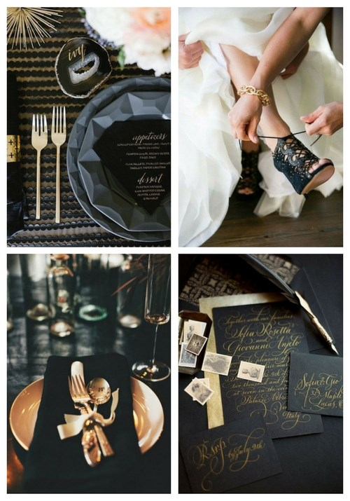 54 Awesome Glam Halloween Wedding Ideas