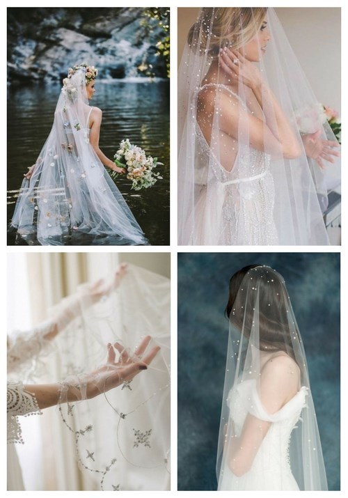 24 Show-Stopping Wedding Veils