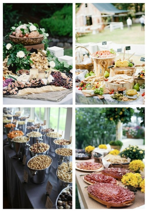 9 Wedding Food Stations That Are In Trend