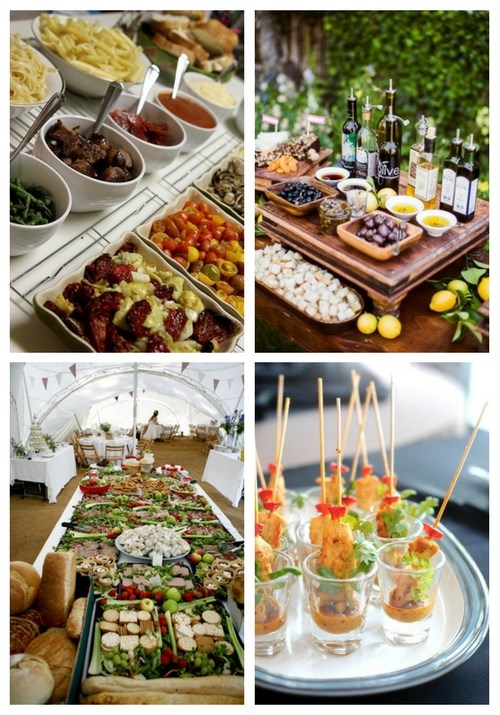 73 Awesome Wedding Food Bars You'll Love