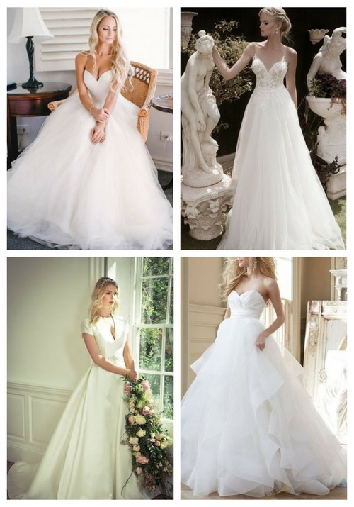 70 Stunning And Timeless A-Line Wedding Gowns