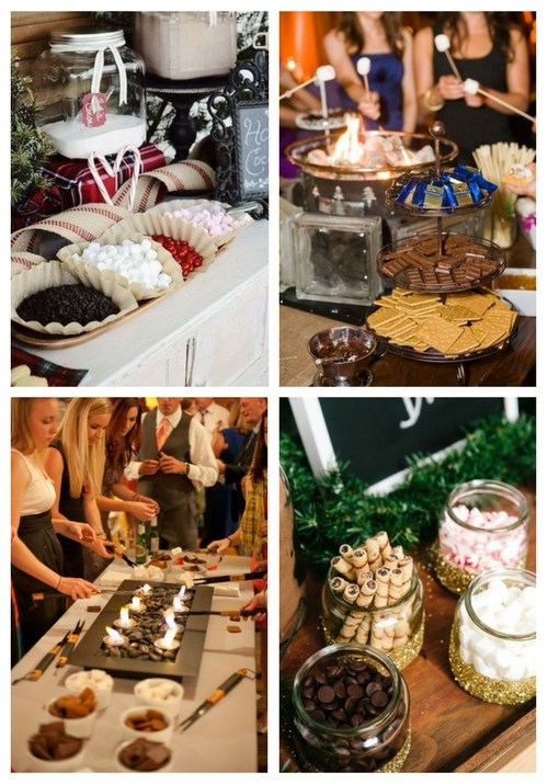 42 Hot Chocolate And S'Mores Bars For Your Winter Wedding