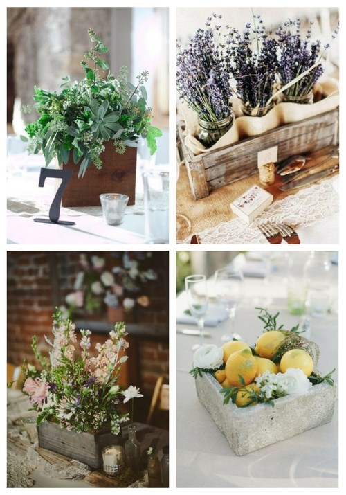 25 Cool Wedding Box Centerpieces You'll Like