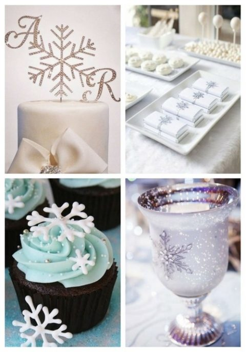 44 Snowflake Ideas For Winter Wedding Decor Happywedd Com