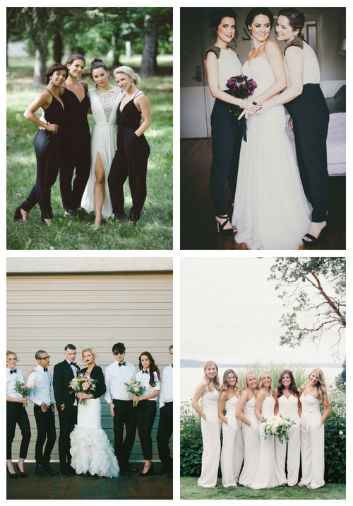 22 Jumpsuits And Pantsuits For Bridesmaids